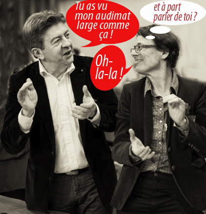 Méluche, premier médialogue de France !