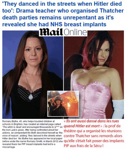 La presse britannique en totale transparence !