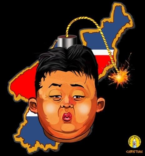 L'allumé nord-coréen ….