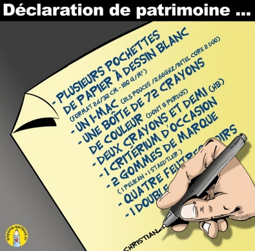 MON PATRIMOINE ….
