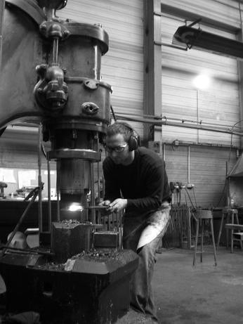 Franck et la ferronnerie  d' art