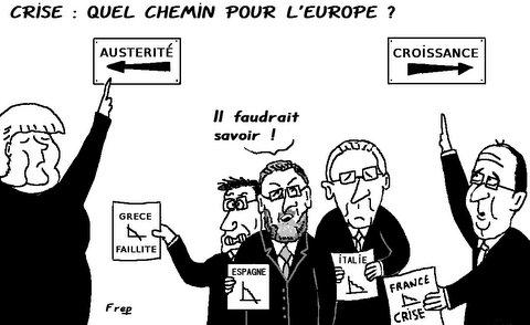 Crise  :  quel  chemin  pour  l'Europe  ?
