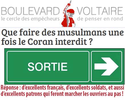 Islamophobie : les compulsionnels passent les bornes…