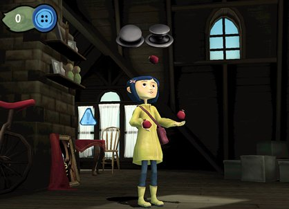 Coraline sur Wii… Mais où est passé l'enchantement ?