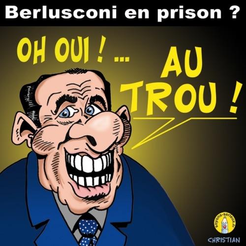 BERLUSCONI : Bunga-Bunga en prison ?