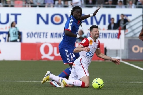 Football : Nancy dévoré par Lyon
