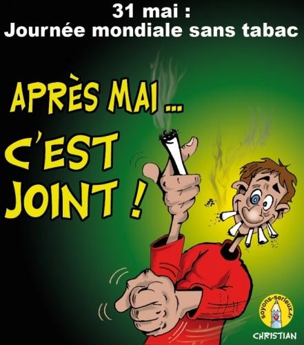 Journée mondiale sans tabac …