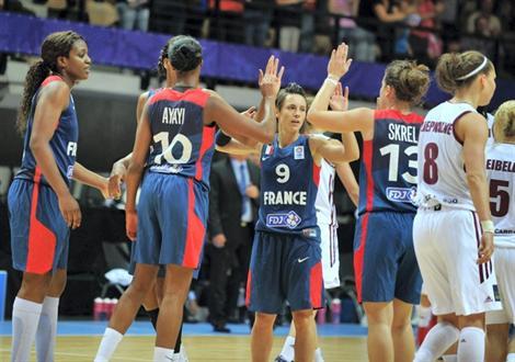 Les Braqueuses en finale de l'Euro féminin.