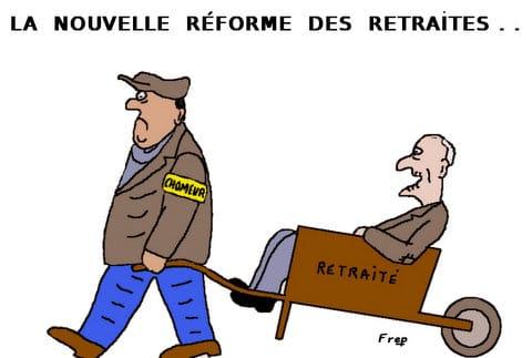 La  nouvelle  réforme  des  retraites . .