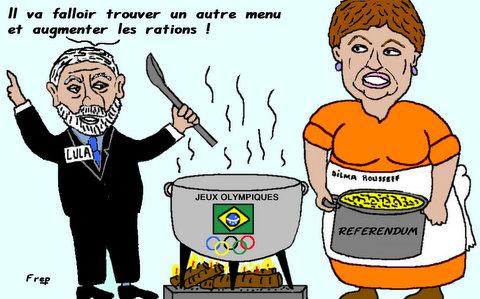 Révoltes  au  Brésil . .
