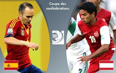 Football : Espagne 10 – 0 Tahiti