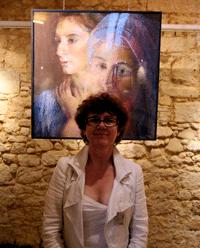 Réflexions une exposition aux Cordeliers Gourdon (Lot 46300) à voir absolument avec Karine Knight