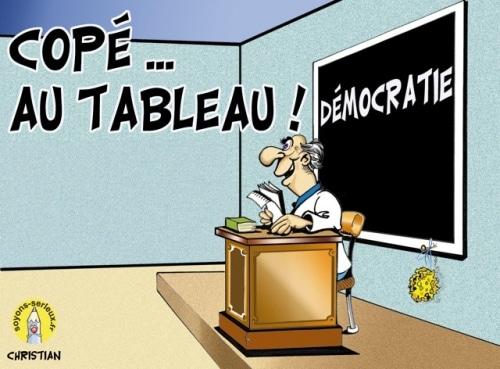 Copé découvre la démocratie ! … ça vous rassure ?