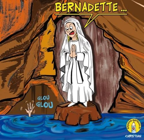 Après Bernadette SOUBIROU … Bernadette SOUS-LA-BOUE !