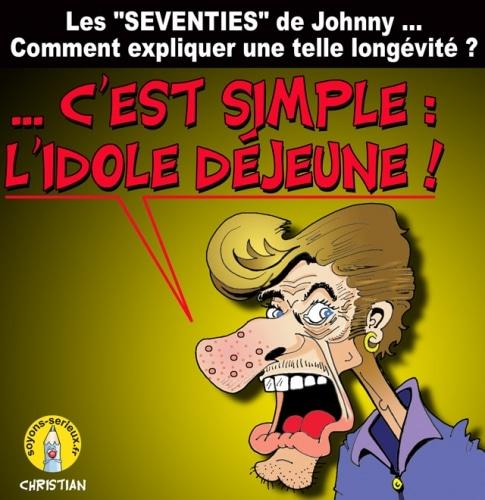 Les «SEVENTIES» de JOHNNY …