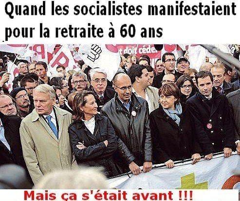 RETRAITES : Hollande aux commandes d'un bulldozer !