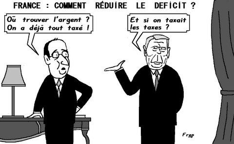 France  :  comment  réduire  le  déficit  ?