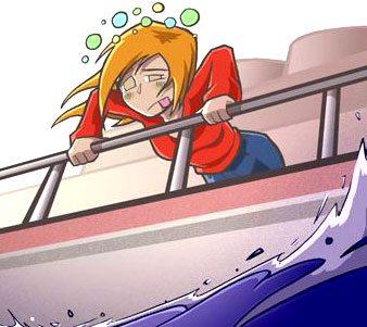 Un mal des transports qui peut parfois gâcher des vacances !