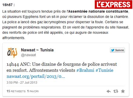 Tunisie : le pire n'est pas sûr