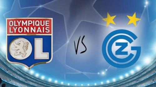 Football : Olympique Lyonnais / Grasshopper Zurich en Ligue des Champions