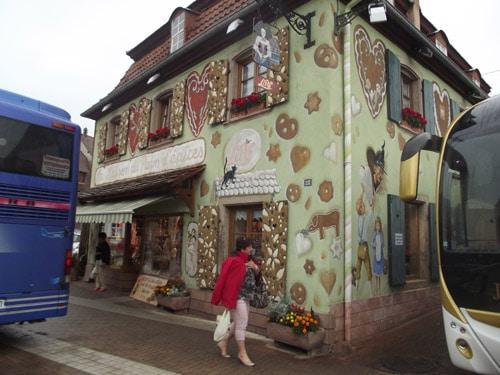Balade alsacienne : la maison du pain d'épices.