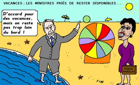 Vacances  gouvernementales . .