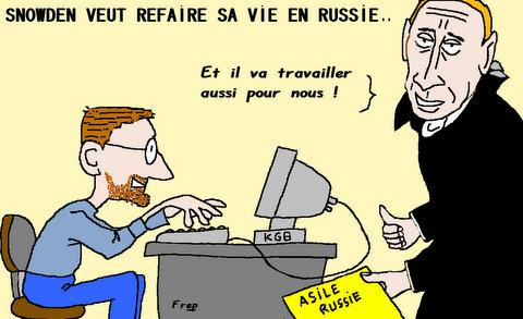 Edward  Snowden  veut  refaire  sa  vie  en  Russie  !
