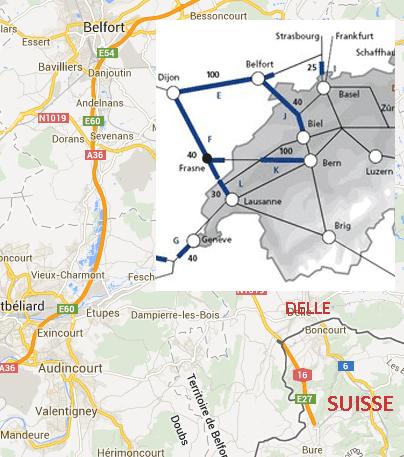 SNCF : Belfort de nouveau relié au Jura suisse en 2016