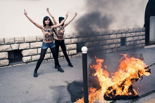 Quand l'image des Femen s'écorne