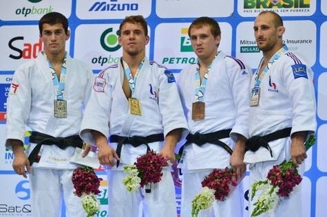 Belle prestation de la France aux Mondiaux de judo à Rio !