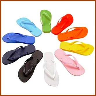 Les tongs, célèbres sandalettes, seraient donc dangereuses ?