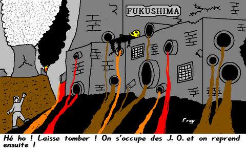 Japon :  les  JO  avant  Fukushima  !