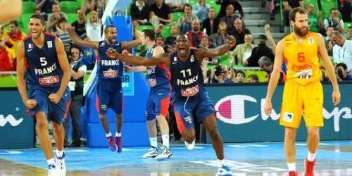 Une place en finale pour l'équipe de France à l'Euro de Basket !