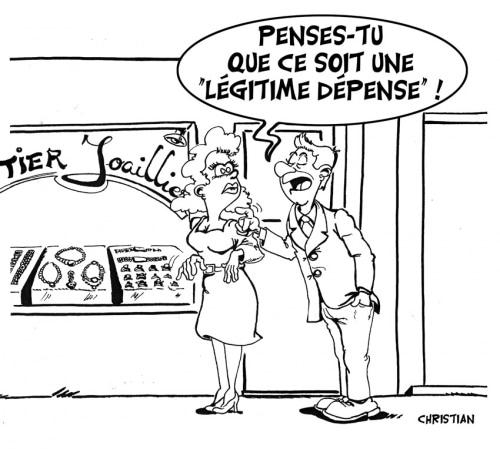 Pour ou contre la légitime dépense …. ?