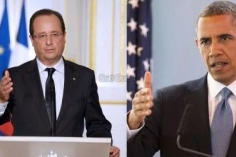 SYRIE : HOLLANDE, OBAMA : POUTINE EN MÉDIATEUR !