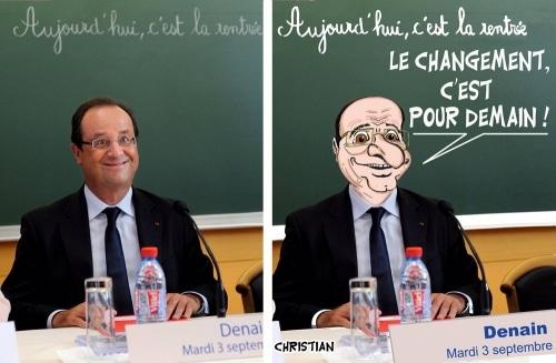 L'AFP retire de ses serveurs une photo peu flatteuse de Hollande …
