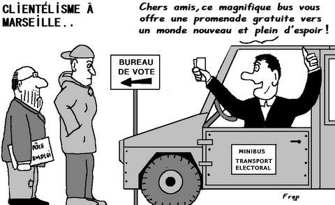 Clientélisme  électoral  à  Marseille . .