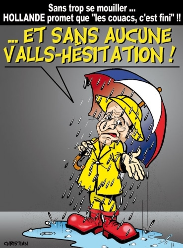 ROMS … Aucune VALLS-hésitation pour Hollande !