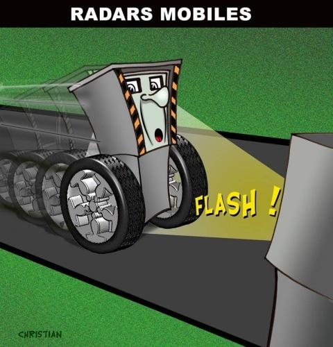 27 novembre 2003 : Présentation des premiers radars automatiques en France.