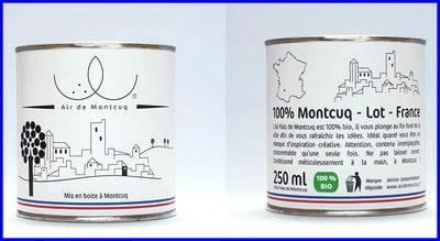 Respirez l'air de Montcuq à pleins poumons !!!