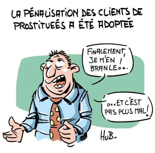 Prostitution : adoption de la loi pénalisant les clients