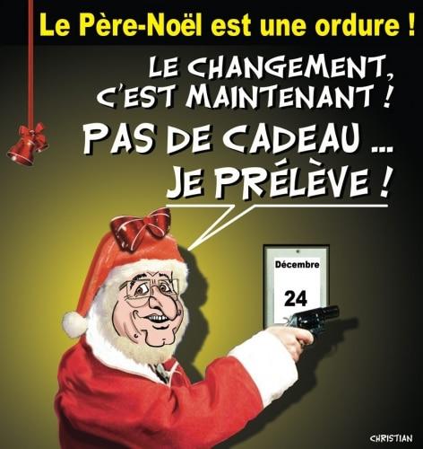 Le Père Noël est une ordure !!!!
