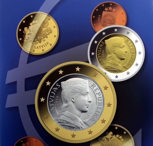 La Lettonie nouveau pays dans la zone Euro