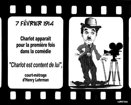 Il y a 100 ans déjà … HOMMAGE A CHARLIE CHAPLIN !