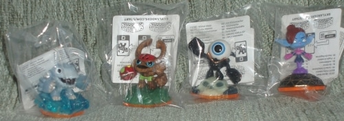 Les 4 sidekicks de Skylanders Giants enfin disponibles !