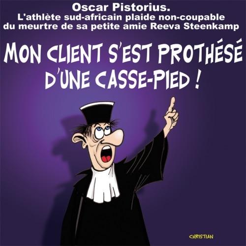 Ouverture du procès d'Oscar PISTORIUS …