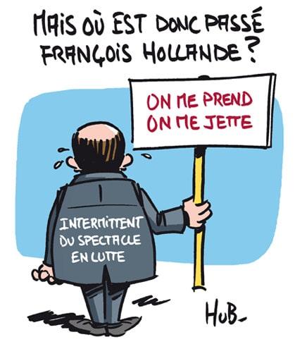 Mais où est donc passé François Hollande?