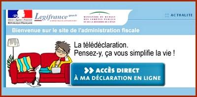 La télédéclaration des impôts ou le mensonge du ministère des Finances…