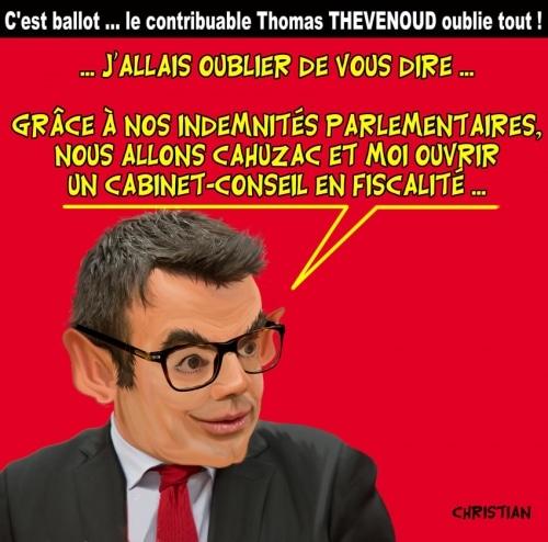 Thomas Thévenoud, le «négligent» !!!!