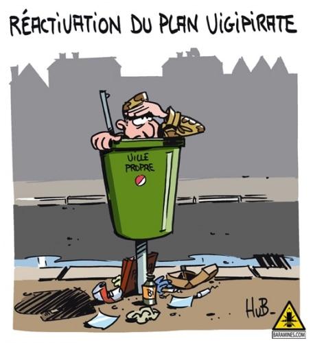 Réactivation du plan Vigipirate